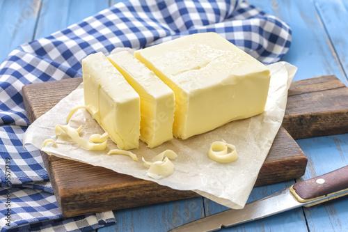 Plexiglas Zuivelproducten Butter