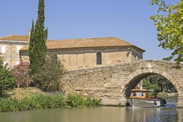 Canal du Midi, Le Somail. France.