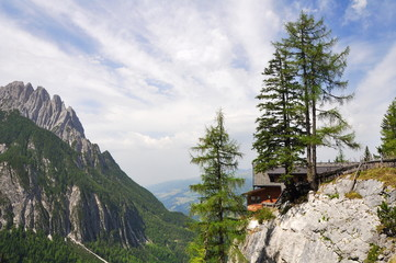 Lienzer Dolomitenhütte 1620 m hoch