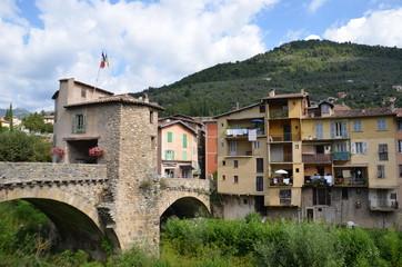 Sospel et son vieux pont à péage