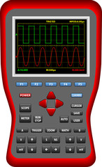 Handheld Digital Big Screen Oscilloscopes