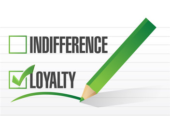loyalty selected illustration design