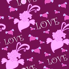 purple love background