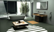 Modern industrial design Bathroom interior