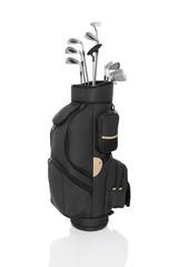 Golfbag schwarz