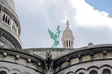 ange ailé, Sacré Coeur (Paris France)