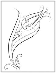 Lale Deseni Çizimi