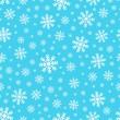Seamless background snowflakes 2
