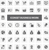 Website Iconset - Business / Work 44 Basic Icons