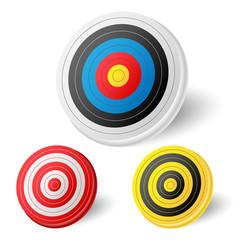 Archery target set
