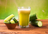 cucumber fresh juice drink