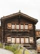 Zermatt, Chalet, Walliser Haus, Findeln, Schweiz