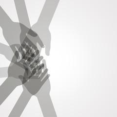 unity hands vector