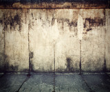 Grunge, rusty concrete wall background