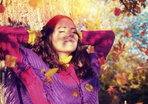 Herbsttag Ruhe