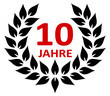 Lorbeer 10 Jahre