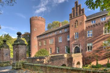 Zugang Burg Kempen