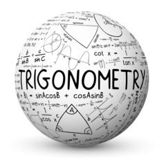 """TRIGONOMETRY"" Sphere (mathematics math maths sketch notes)"
