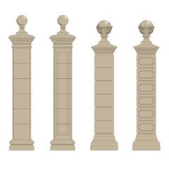 set of column 3
