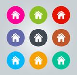 Home - Metro clear circular Icons
