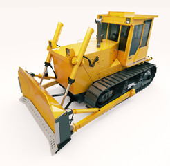 Heavy crawler bulldozer