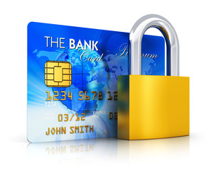 Banking security concept