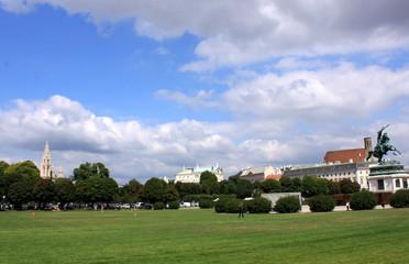 Stadtzentrum von Wien