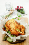 baked chicken with herbs