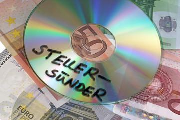 Euroscheine mit CD