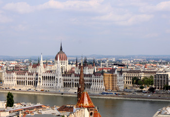 Budapest (Parlamentsgebäude)