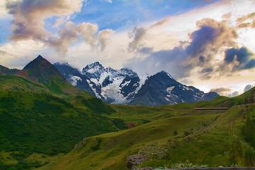 Paesaggio in Val d'Isere