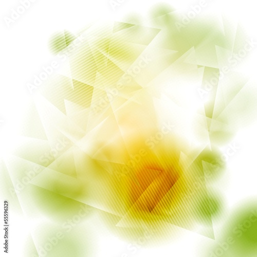 Creative abstract shapes vector background