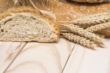 Pan de trigo.