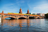 The Oberbaum Bridge in Berlin, Germany