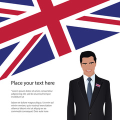 United Kingdom patriot poster