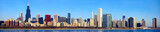 Chicago skyline panorama, IL, USA