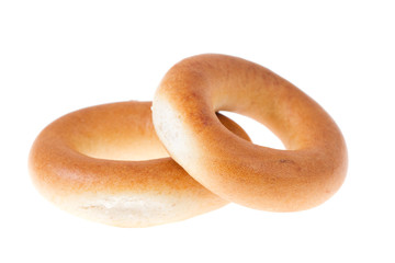 Bagels isolated