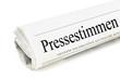 Pressestimmen