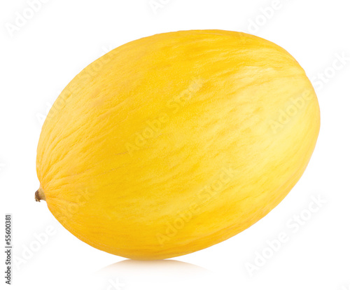 honeydew melon isolated on white background