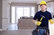 Handyman with a hammer.