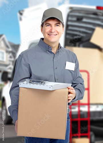 Delivery courier.