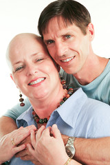 Loving Couple Beats Cancer