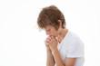 child in prayer praying