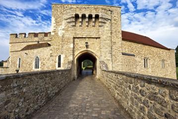 Leeds castle gate entrance, Kent, United Kingdom