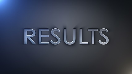 Results Silver Text, Loop