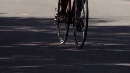 Vélo au ralentie. Slow Motion