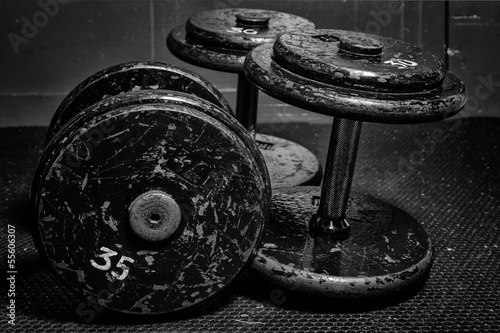 Old Dumbbells