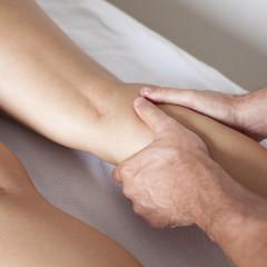 Unterschenkel Massage