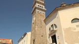 St George church, Piran, Istria, Slovenia