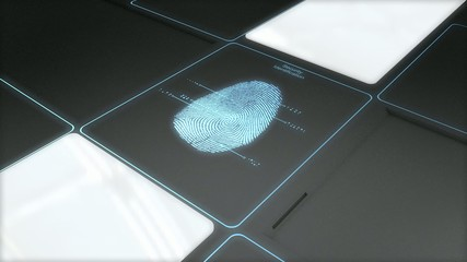 Security ID scan technology.